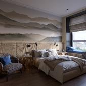 """City Park"" bedroom"
