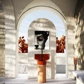Визуализация раковины BORGHI в архитектуре