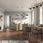 Оливкововая кухня