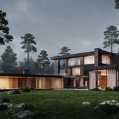 Загородный дом.