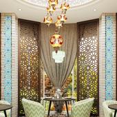 Uzbek modern restaurant design