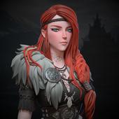 "Viking girl ""Faye"""