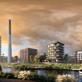 reconstruction of the plant for residential premises