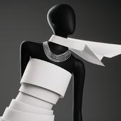 Манекен Paper Dresses