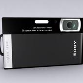 Camera Sony T300 Black