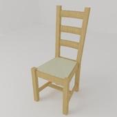 Cтул с соломенным сиденьем