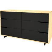 "Chest of 6 drawers from IKEA series ""M?ndal?"""