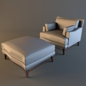Donghia VICTOIRE Club Chair