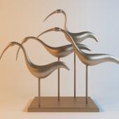 """sculpture """"birds"""""""