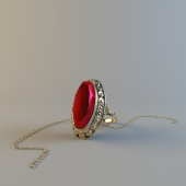 Ring and chain