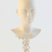 Hat stand (wig, costume jewellery)