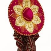 Sombrero with poncho, option 1