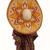 Sombrero with poncho, option 2