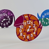 Wall clock by George Nelson