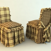 Pouch on a chair with cushion