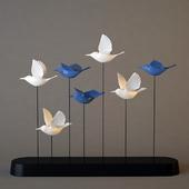 "statuette of ""birds"""