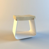 Henry Stool by Alexandre Reignier