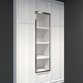 Шкаф белый классик