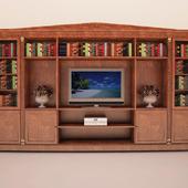 minotti / libreria tv