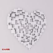 KARE / Heart 122x120