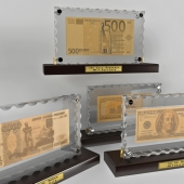 Golden Group \ Banknote gold-glass
