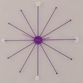 KARE DESIGN / Umbrella Violet