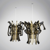 prototype fixtures-sculptures by Jorge Pardo