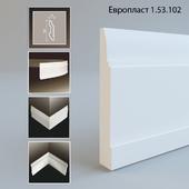 Evroplast. 150 mm skirting