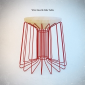 Wire Stool & Side Table