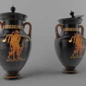 Greek vase (amphora)