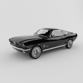 Ford Mustang 65 years