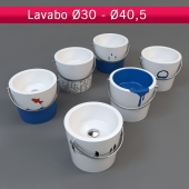 A set of children's washbasins LAVABO