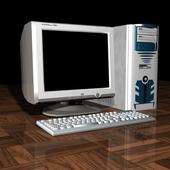 Комп с клавой и системником