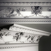 cornice with mouldings