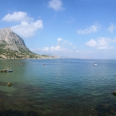 Bay of the new world (Crimea)