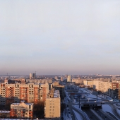 Panorama of Novosibirsk