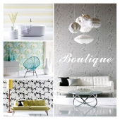 HARLEQUIN wallpaper, a collection of BOUTIQUE