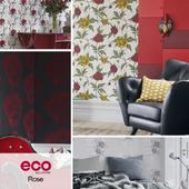 Desktop ECO Wallpaper, Rose collection