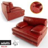 "Chair factory ""Relotti"", model ""Milan"""