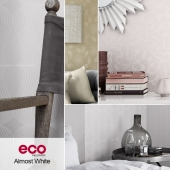 Wallpapers ECO, collection Almost white