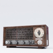 Retro radio receiver