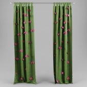 curtains with bows