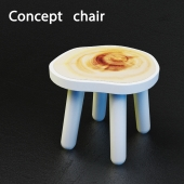 Wooden stool. Project «Stool»