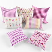 Pillows for baby girls