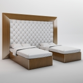 Double bed-sliding