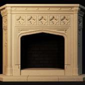 PROFI Gothic fireplace