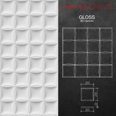 3D панель Gloss