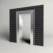 Doorway with bevel