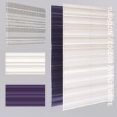 Wall tile Tubadzin Colour violet / white