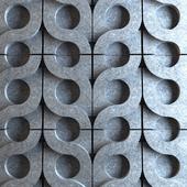 3d плитка Kaza Conrete - Vine